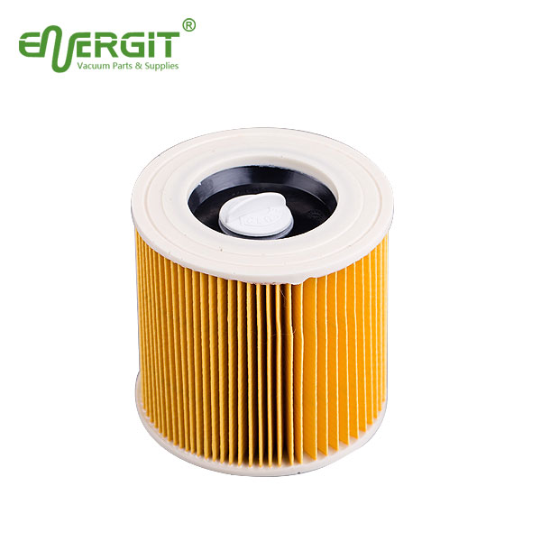 Replacement cartridge filter with small cap for Karcher 6.414-789 NT4801 TE